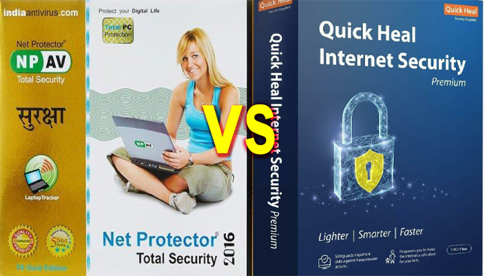 Net protector total security vs quick heal total security